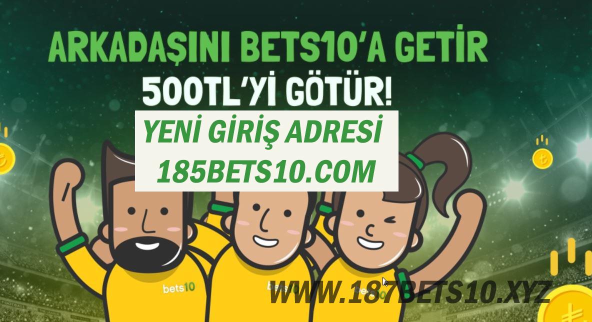 Yeni Giriş Adresi 185bets10.com